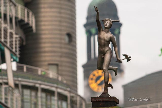 Hermes - der Götterbote, eine wichtige Aufgabe des Hermes - als Gott des Reisens, der Wege und der Bewegung.