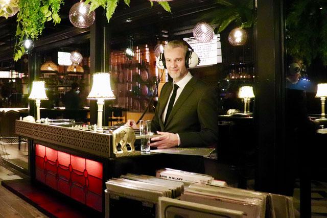 Vintage DJ Jazz DJ Retro DJ