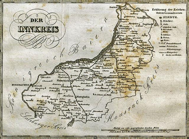 Quelle: Benedikt Pillwein, Der Innkreis, Linz 1832