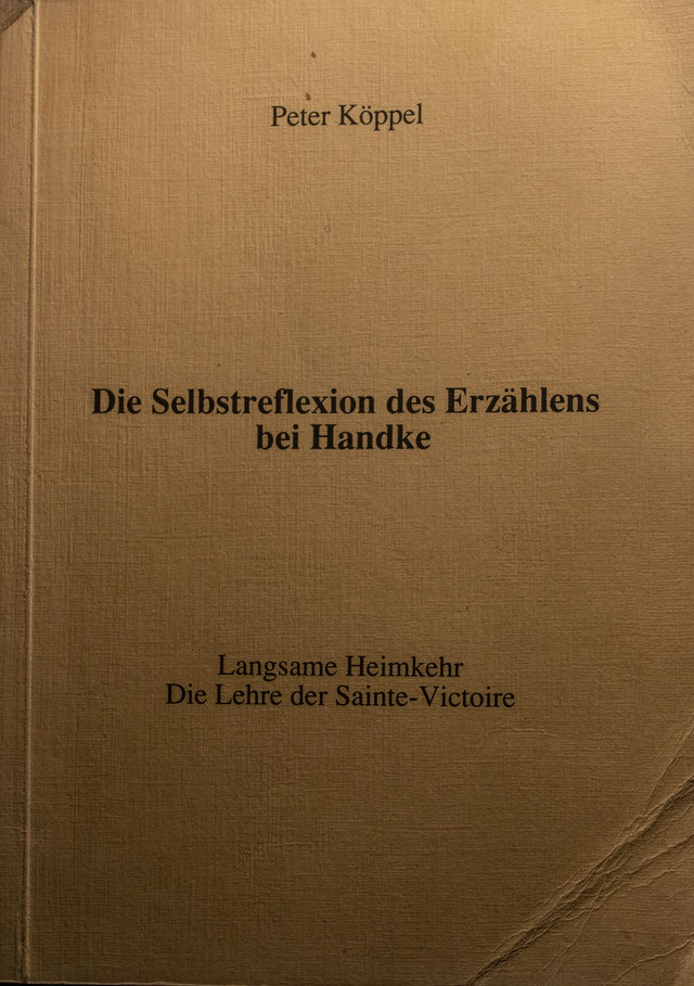 ISBN 3-906 609-04-9, 1989 by Köppel-Verlag, Baden, CH, 127 Seiten (Skript einer meiner Vorlesungen in Vergleichender Literaturwissenschaft  an der Universität Zürich.)