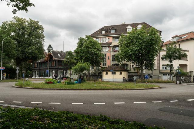 Bühlplatz. Anfang Juli 2017. Weitere Fotos zum Bühlplatz siehe unter der Rubrik Pauluskirche.