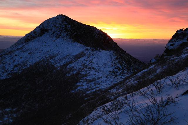 中岳夜明け前