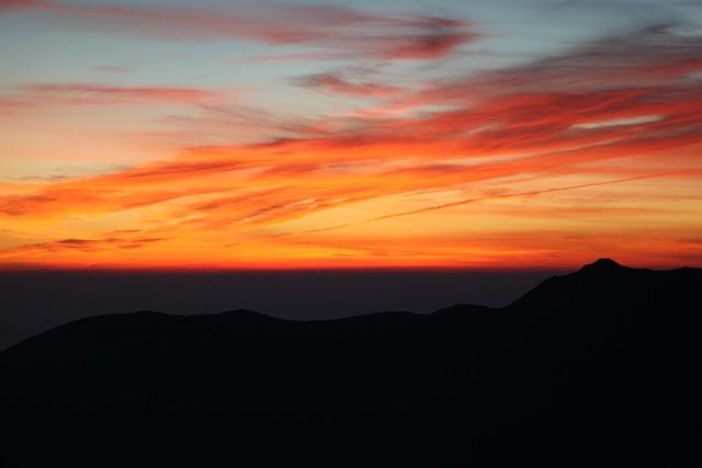 夜明け前(大船山)