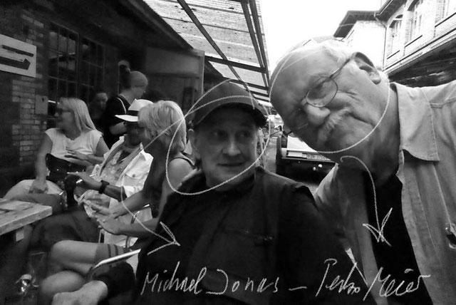 Pedro Meier – Michael Jones – Galerie 16b, Zürich – Ausstellungsstrasse – PhotoArt – © Pedro Meier Multimedia Artist – »Selfie-Art-Project« – Atelier Gerhard Meier-Weg Niederbipp / Bangkok Golf von Thailand – DiaryArt, FLUXUS DADA, Visarte, SIKART Zürich