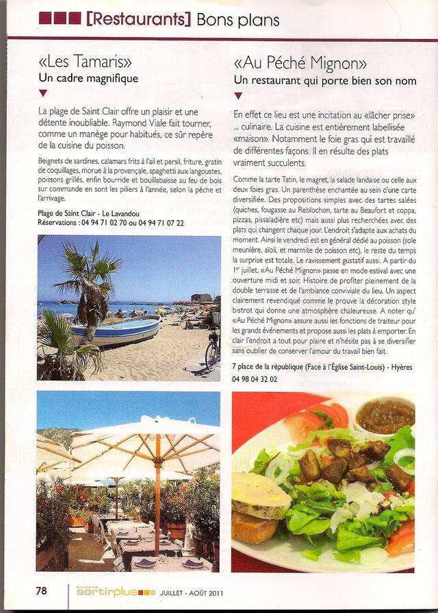 Magazine Sortir+ été 2011
