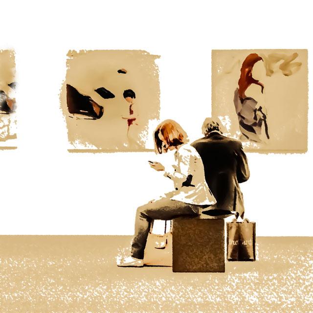 Köln I, 60 x 60 cm, Canvas