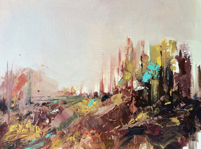 Internal Light nº 11   Oil painting on canvas   30,5 x 40,5 cm   2015