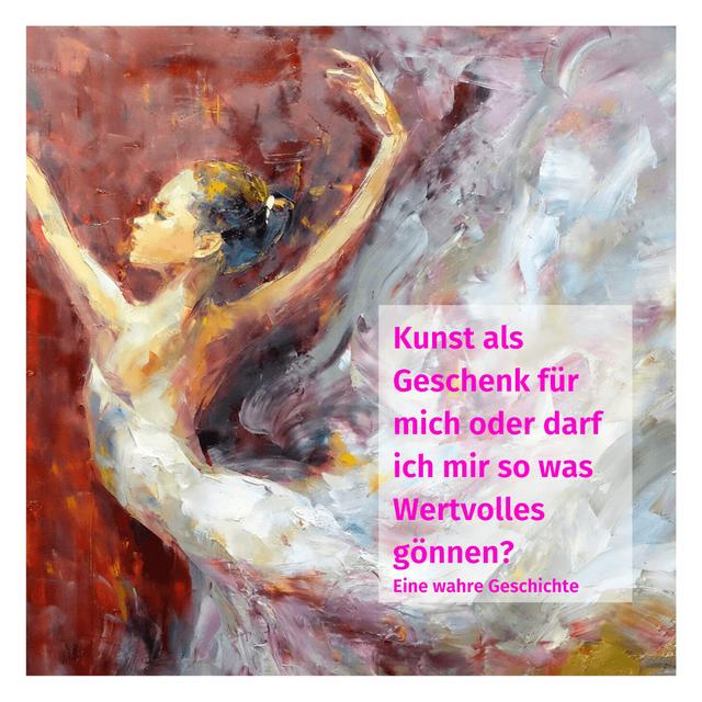 "Kunst als Geschenk für dich - Ausschnitt aus dem Gemälde ""Fullmoon"" - Künstler Ngyuen Tho Hieu"