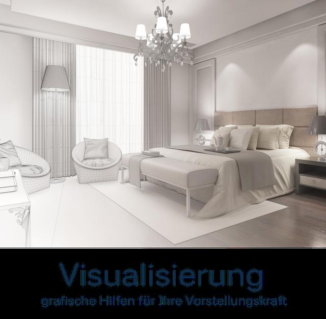 Visualisierung, Grafische Gestaltung und Planung