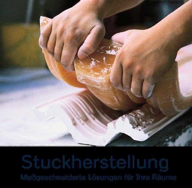 Stuck, Stuckherstellung und Stuckleisten, Stuckateurarbeiten