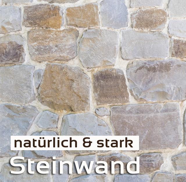 Steinwände, Kunststein, Verblender