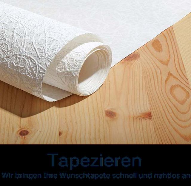 Tapeten und Tapezierarbeiten