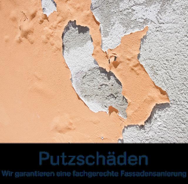 Putzschäden, Fassadensanierung