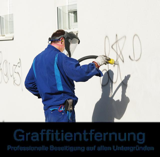 Graffitientfernung, Graffitibeseitigung, Graffiti