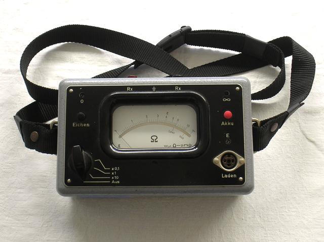 Kontakt - Übergangswiderstand Prüfer Typ. 61 Post.