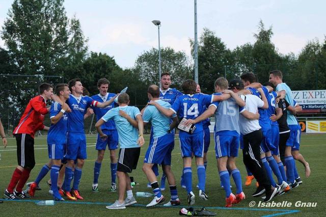 Nach dem 2:0 Sieg im Derby der Kreisliga A- Marburg...