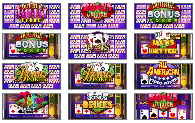 Betsoft Video Poker Oyunları