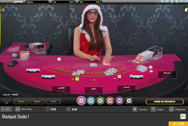 Portamaso Gaming Canlı Blackjack