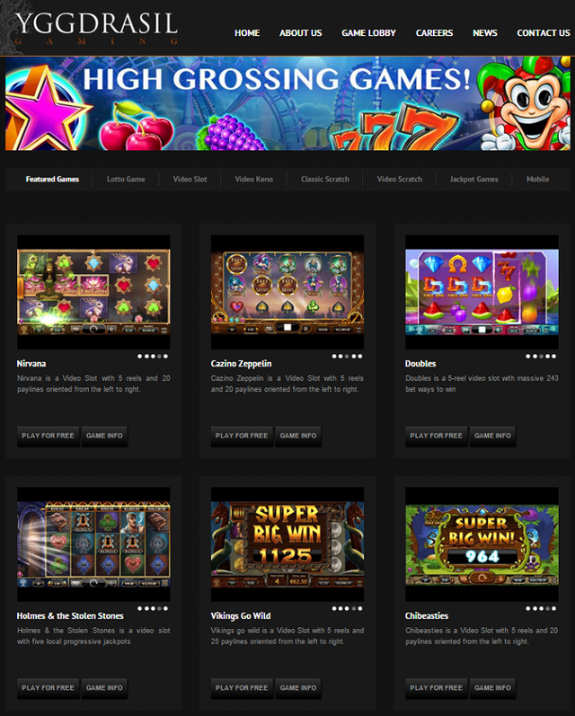 Yggdrasil Slot Oyunları