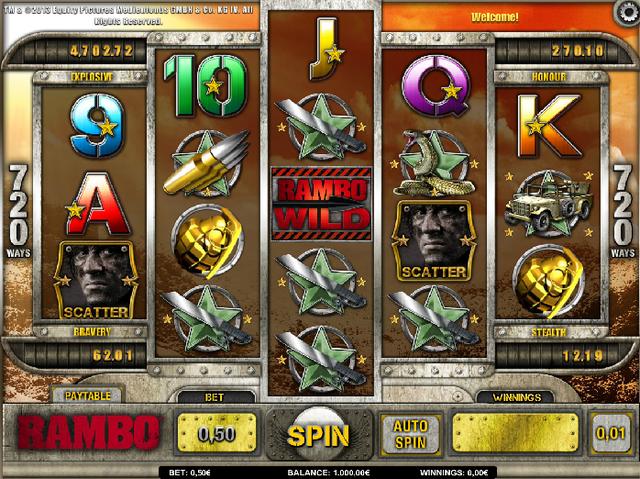isoftbet Rambo Slot Oyunu