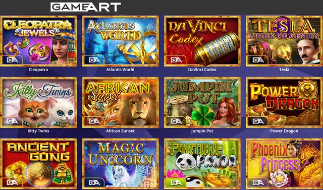 Gameart slot oyunları