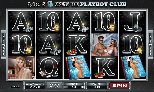 Microgaming Playboy Online Slot