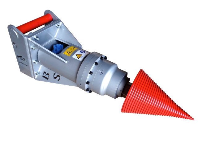 Black Splitter Kegelspalter SB / Holzspalter / Spalter / Planetengetriebe / Baggerzubehör / Bagger