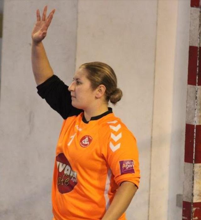 Alexandra Catarino 26 arrêts durant le match........Respect !