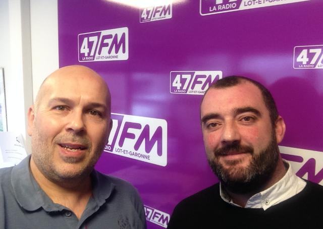 47FM.  Yannick Lenhard est au micro de l'émission du 29 janvier 2018