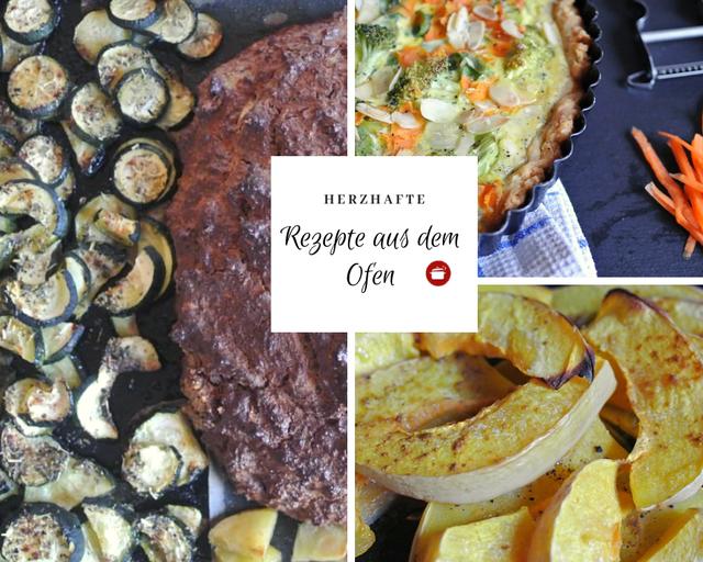 Herzhafte Rezepte aus dem Ofen