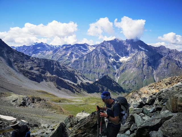 Uno sguardo sulla valle opposta , la Val Di Rhemes