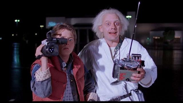 In den 80er-Jahren konnte man zwar Eins-A-Zeitmaschinen bauen, aber leider keine Kamera unter 12 Kilo.
