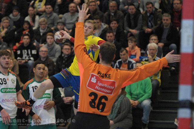 TV Jahn Duderstadt (gelb) vs TSV BUrgdorf III