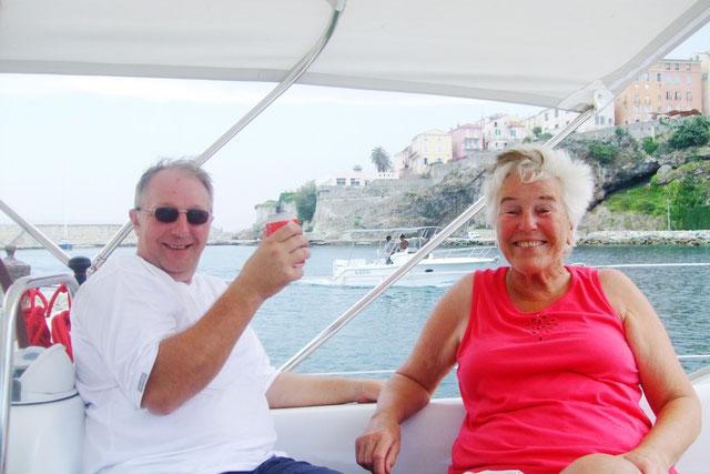 Ruthild & Wiwi auf Elba