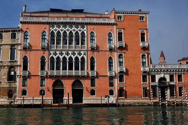 Mathieu Guillochon, photographe, Italie, Venise, palais,palais pisani moretta, architecture, gothique, histoire, république de venise