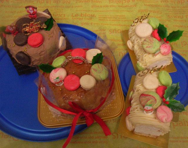 おとりよせのクリスマスケーキたち