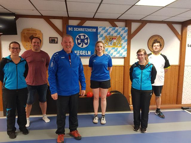 1. Platz Marion Frey/Konrad Wiedenmann (BCS), 2. Platz Melanie Steinle/Martin Großmann (Nördlingen/Deuringen), 3. Platz Katrin Gulde/Partick Kerle (Nördlingen/Holzheim)