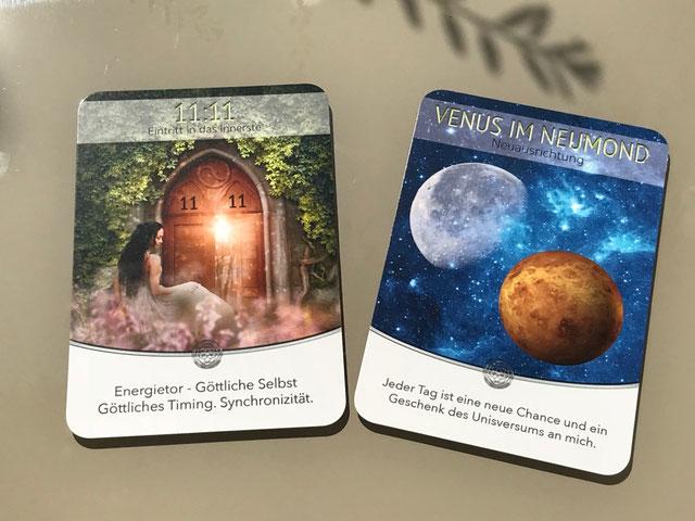 Sonne-Venus-Mond auf Erden von Jeanne Ruland und Anita Schickinger auf Phönixzauber kostenlose Tagesbotschaft Vollmondorakel