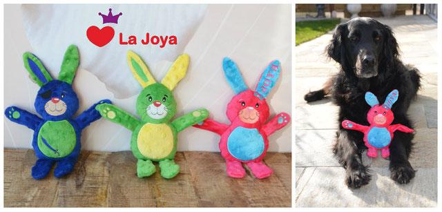Hundespielzeug Hasi Hase personalisiert Spielzeugtierli Hunde