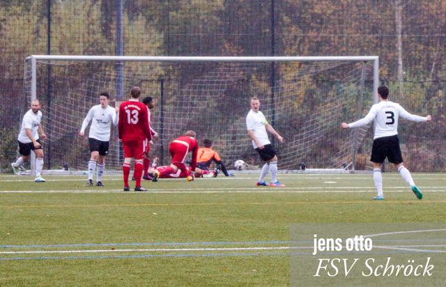 Dominik Pfeil trifft in der fünften Minute und bringt unseren FSV mit 1:0 in Führung
