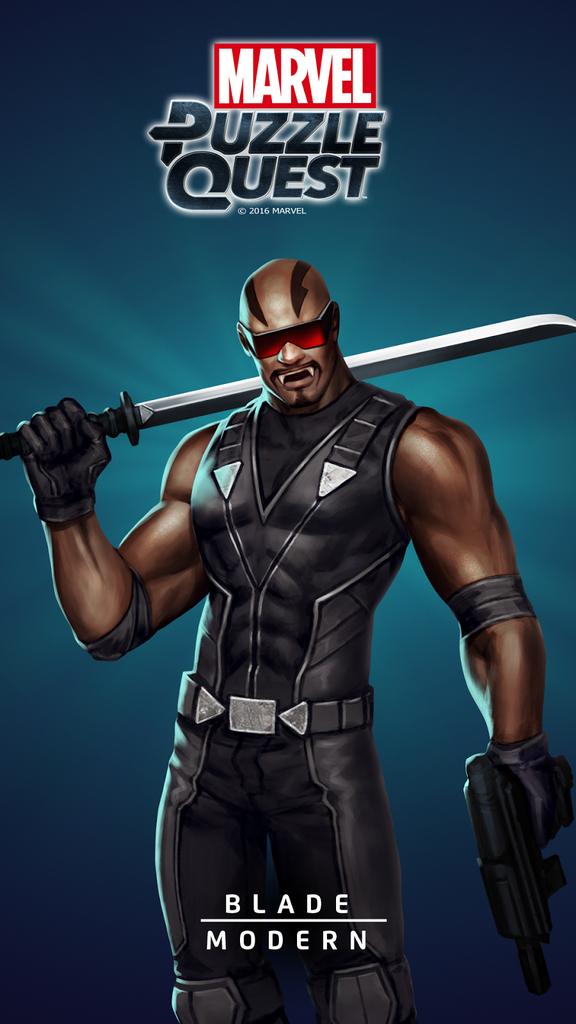 Blade kann bei Tageslicht herumlaufen. Die Qualifizierungsschwelle für Superhelden scheint stetig zu sinken.