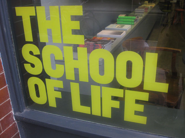 «The School of Life», London 2013 © Bellone Franchise Consulting GmbH