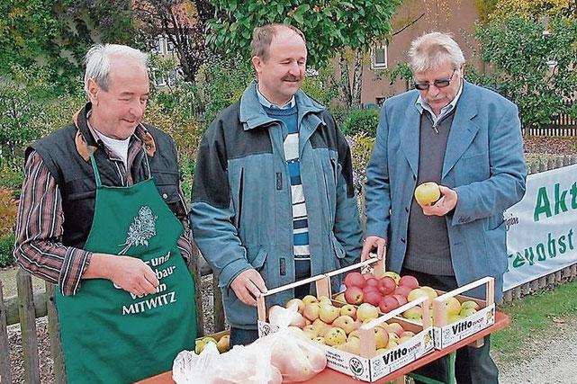 Haben sich für 2017 wieder allerhand vorgenommen (von links): Kreisvorstandsmitglied Horst Heinlein, Kreisvorsitzender Fritz Pohl, sowie stellvertretender Kreisvorsitzender Egar Bärenz. Foto: Gerd Fleischmann