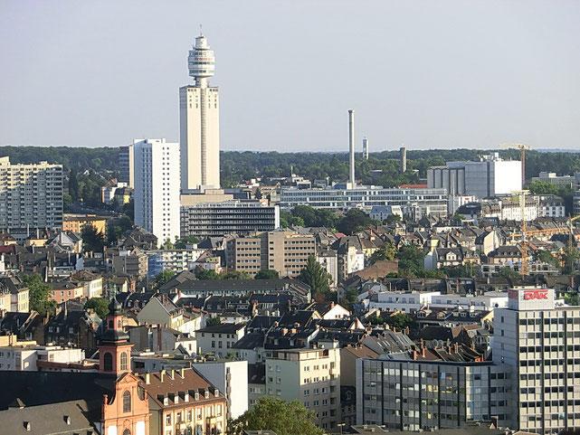Frankfurt am Main - Sachsenhausen - Henninger Turm
