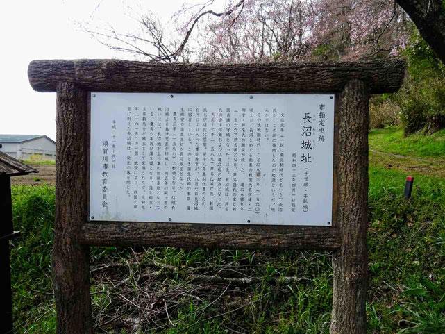 須賀川市 長沼城址
