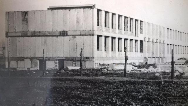 Строительство новой Чернышевской средней школы