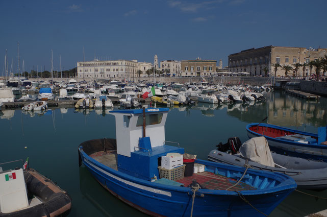 Trani, Fischerhafen