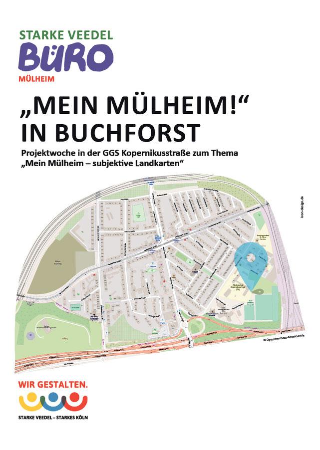 """Anleitung """"Mein Mülheim!"""" in Buchforst – Subjektive Landkarte"""