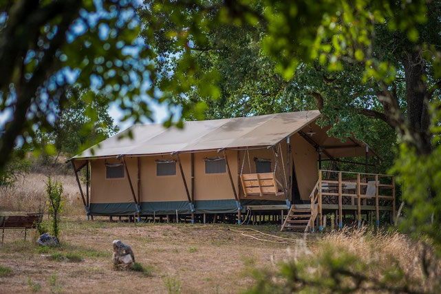 glamping, hébergement insolite