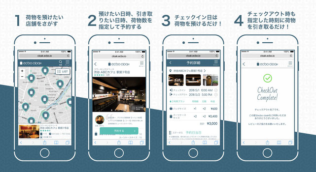 福岡サンパレス周辺で荷物を預けるなら!コインロッカーに預けるのはもう時代遅れ!?ecboアプリで簡単予約!